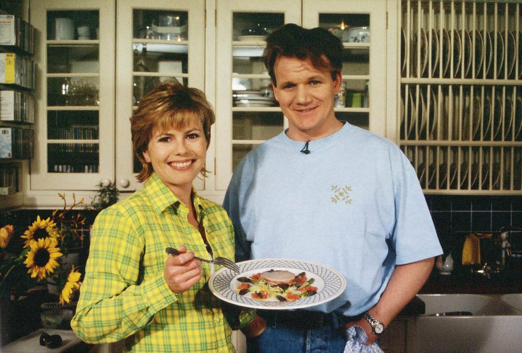Meet a new chef called gordon ramsay liz earle wellbeing liz earle with gordon ramsay m4hsunfo
