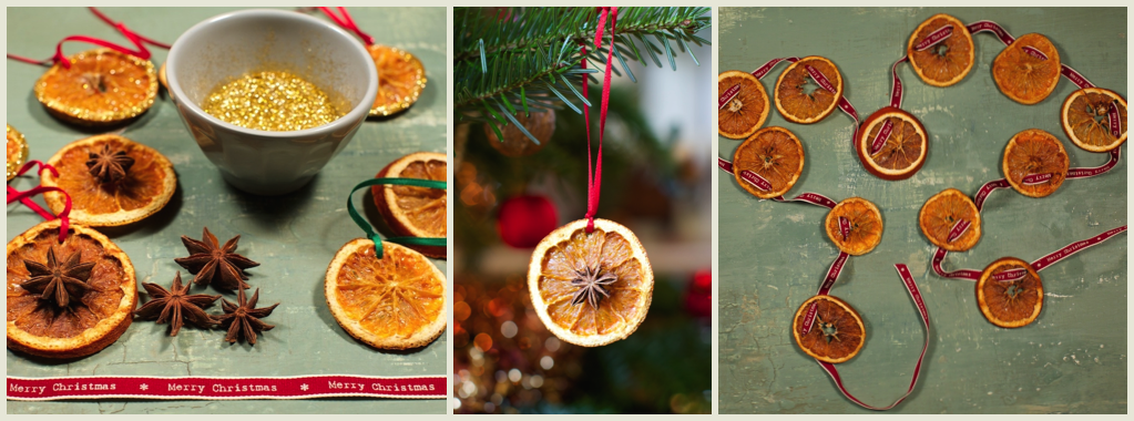 Homemade christmas decorations using oranges wonderful for Homemade decorations