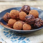 Raw nutty chocolate truffles from Liz Earle Wellbeing