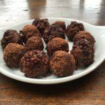 nutty raw chocolate truffles
