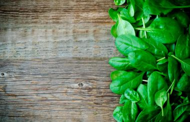 Gorgeous Summer Greens - The benefits of Spinach RS