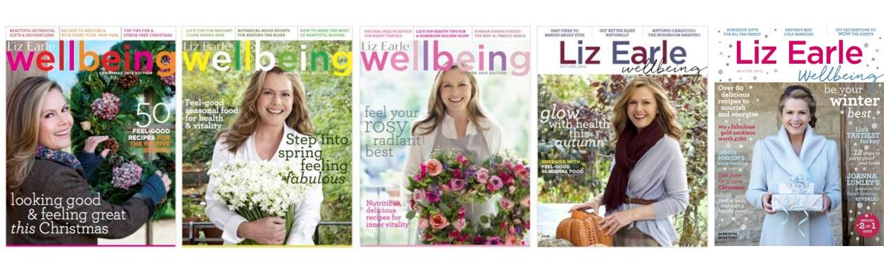 mag covers Liz Earle Wellbeing