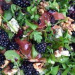 Blackberry stilton and walnut salad recipe from Liz Earle Wellbeing