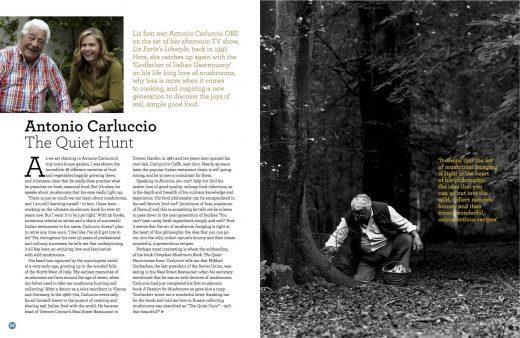 Liz Earle Wellbeing Magazine Autumn 2015 Antonio Carluccio