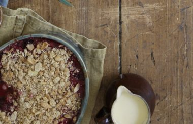blackberry crumble Liz Earle Wellbeing
