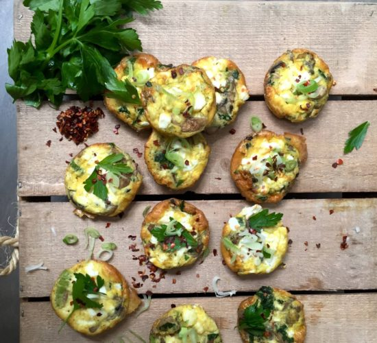 Breakfast egg muffin recipe from Liz Earle Wellbeing