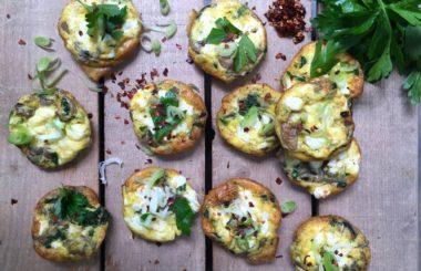 Breakfast egg muffin recipe from Liz Earle Wellbeing