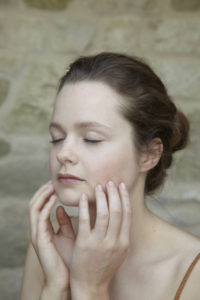 How to do a facial massage step 7 from Liz Earle Wellbeing