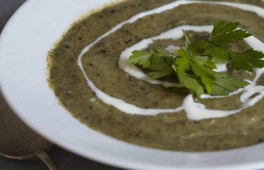 super green soup recipe from Liz Earle Wellbeing