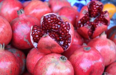 Health benefits of pomegranates from Liz Earle Wellbeing