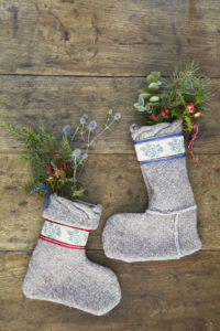 Homemade christmas stocking tutorial from Liz Earle Wellbeing