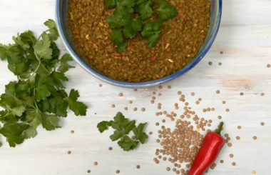 Green lentil dhal recipe from Liz Earle Wellbeing