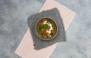 green lentil dhal recipe liz earle wellbeing