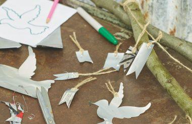 Silver bird scarer Liz Earle Wellbeing
