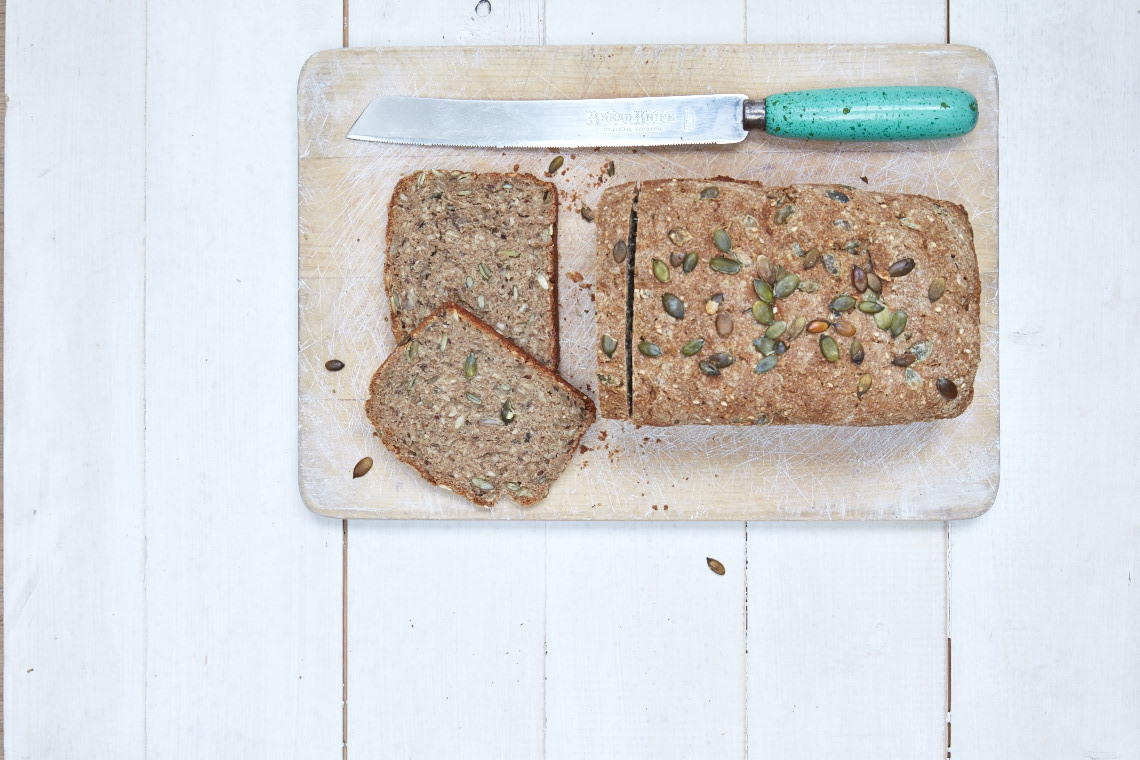 Seeded rye bread recipe from Liz Earle Wellbeing