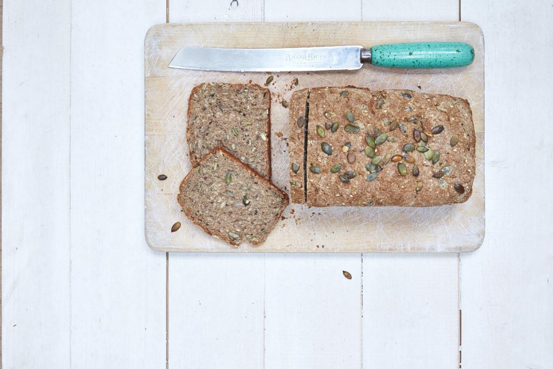 Seeded rye bread recipe from Liz Earle Wellbeing