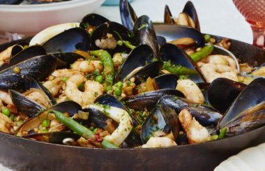 seafood paella feature Liz Earle Wellbeing