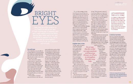 Bright Eyes - Liz Earle Wellbeing Spring 2018 copy