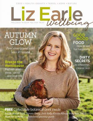 Liz Earle Wellbeing - Autumn 2017 cover