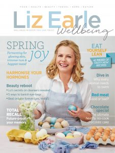 Liz Earle Wellbeing Spring 2018 cover