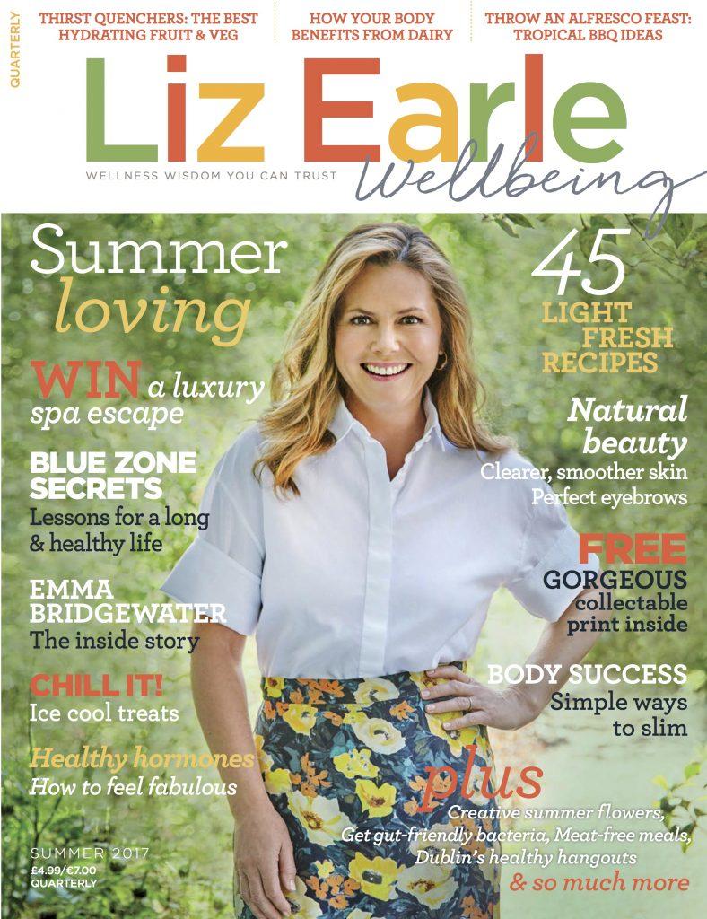 Liz Earle Wellbeing Summer 2017 cover