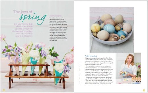 The Joys of Spring - Liz Earle Wellbeing Spring 2018 copy
