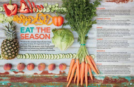 eat the seasons Liz Earle Wellbeing 2017
