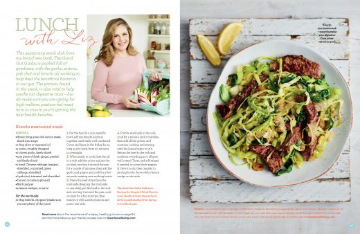 lunch with liz Liz Earle Wellbeing Summer 2017