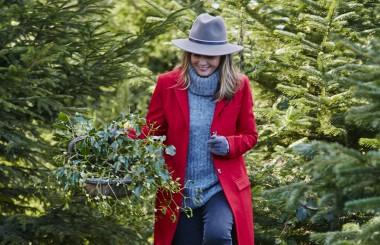 Christmas tree walk walking Liz Earle Wellbeing