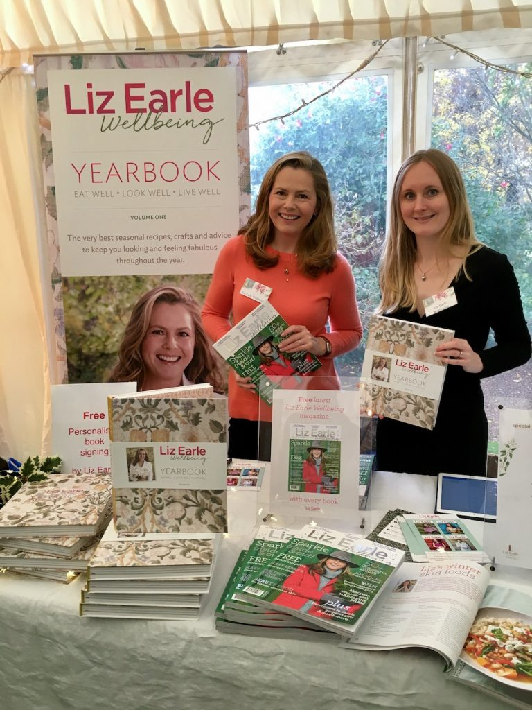 Chelsea Physics Garden Christmas fair Liz Earle Wellbeing