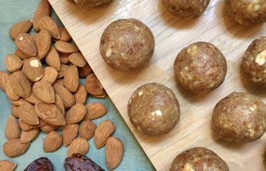 ginger energy balls - Liz Earle Wellbeing