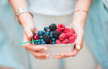 the right bite healthy eating on the go berries Liz Earle Wellbeing Spring