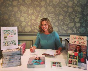 Rainbow Trust Yearbook signing Liz Earle Wellbeing