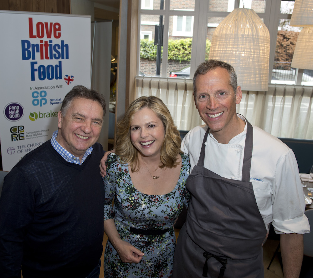 Love British Food ambassador Raymond Blanc Phil Howard Liz Earle Wellbeing
