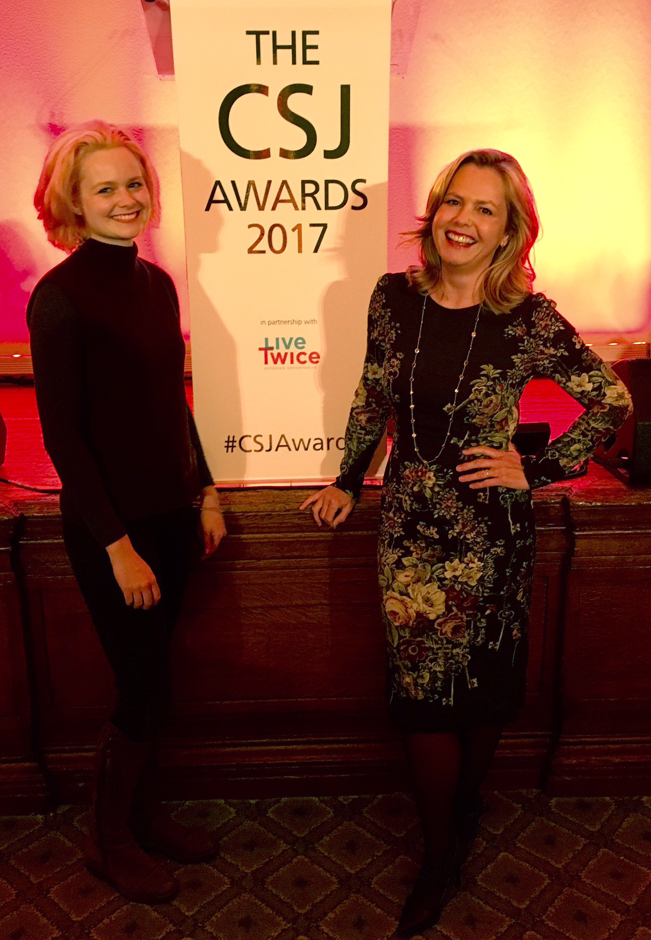 The Centre for Social Justice Awards with LiveTwice Liz Earle Wellbeing