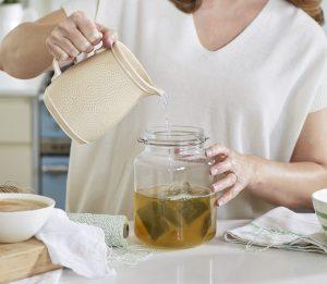 Kombucha recipe Liz Earle Wellbeing The Good Gut Guide