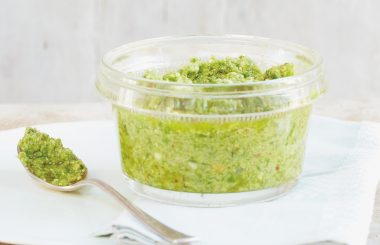 Wild Garlic Pesto header Liz Earle Wellbeing