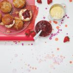 fizzy strawberry jam compote and all butter spelt scones recipe for Wimbledon Liz Earle Wellbeing