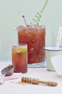 fragrant Earl Grey iced tea Liz Earle Wellbeing magazine