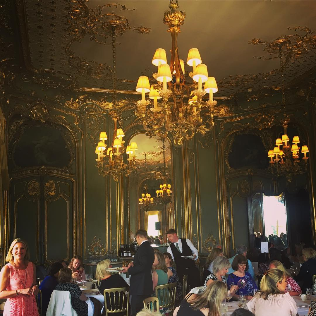 lunch at clivedon house Liz Earle Wellbeing