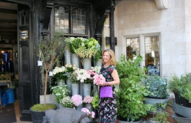 Liz Earle jewellery Liberty London flowers