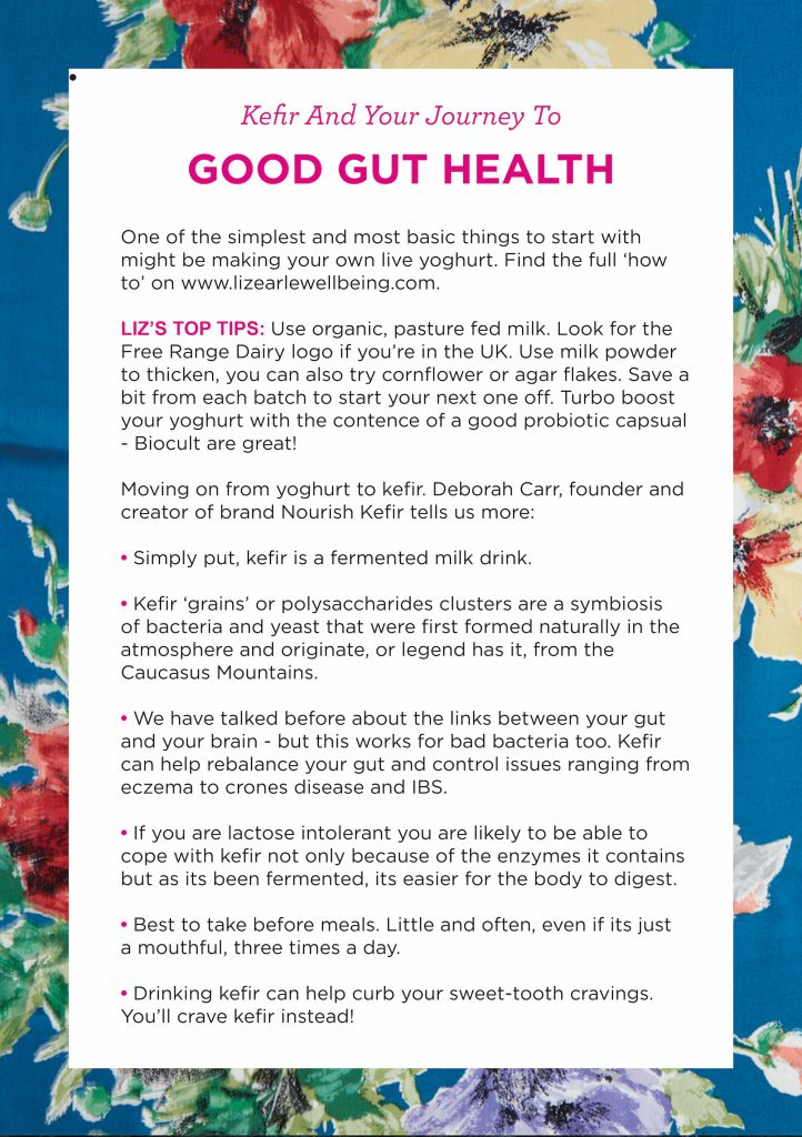 Kefir - Wellness with Liz Earle Show Notes