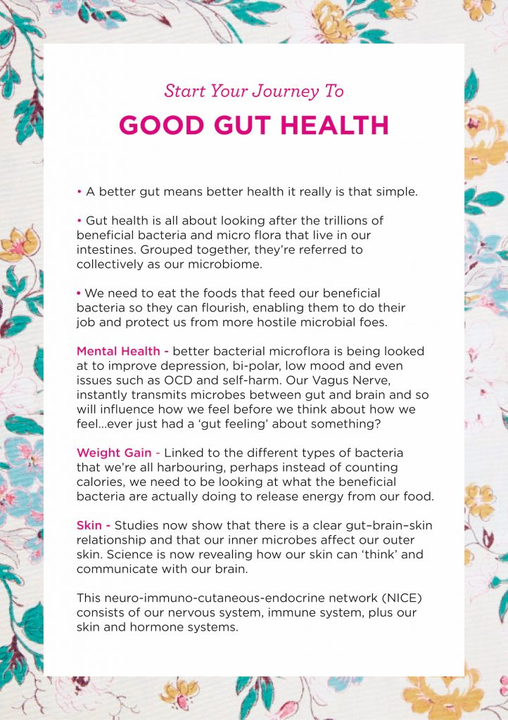 Good gut health - Wellness with Liz Earle Show Notes