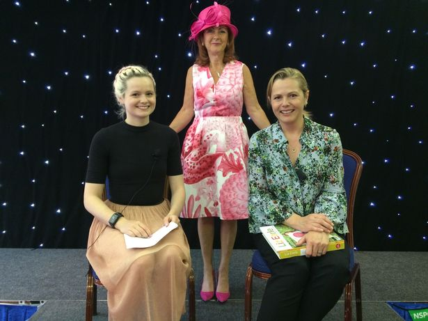 NSPCC Newcastle fundraiser ladies lunch Liz and Lily Liz Earle Wellbeing