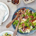 Picking blackberries on an autumn walk is one of our favourite activities. Savoury blackberry dishes give us an appreciation for their versatile uses. Try this delicious filling salad recipe for a quick and easy lunch! Photo by Georgia Glynn Smith