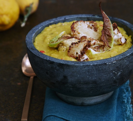 Coconut and lemon lentle soup recipe - Liz Earle Wellbeing