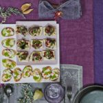 aubergine toasts canapes liz earle wellbeing