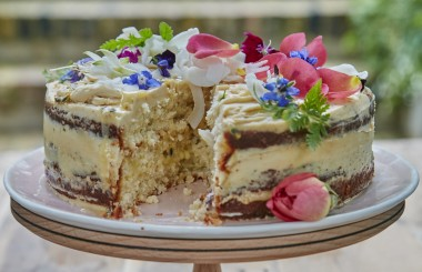 fika triple layer lime passion fruit spelt cake liz earle wellbeing