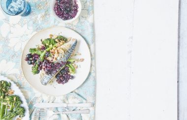 griddled mackerel recipe with agrodolce liz earle wellbeing
