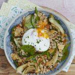 nutty vegetarian grain bowl recipe liz earle wellbeing